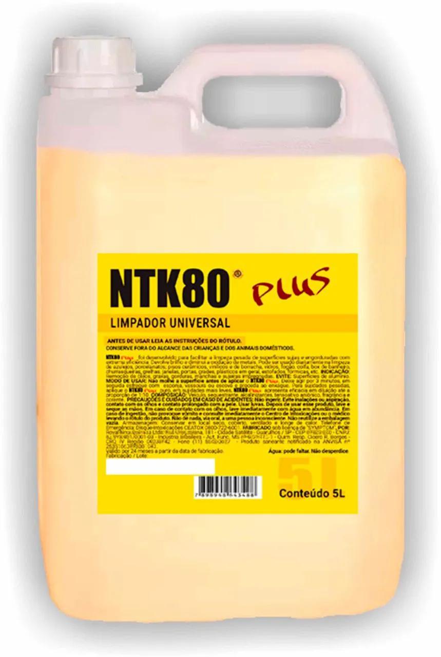Ntk 80 Plus Limpador Universal Galão 5 Litros Limpeza Pesada