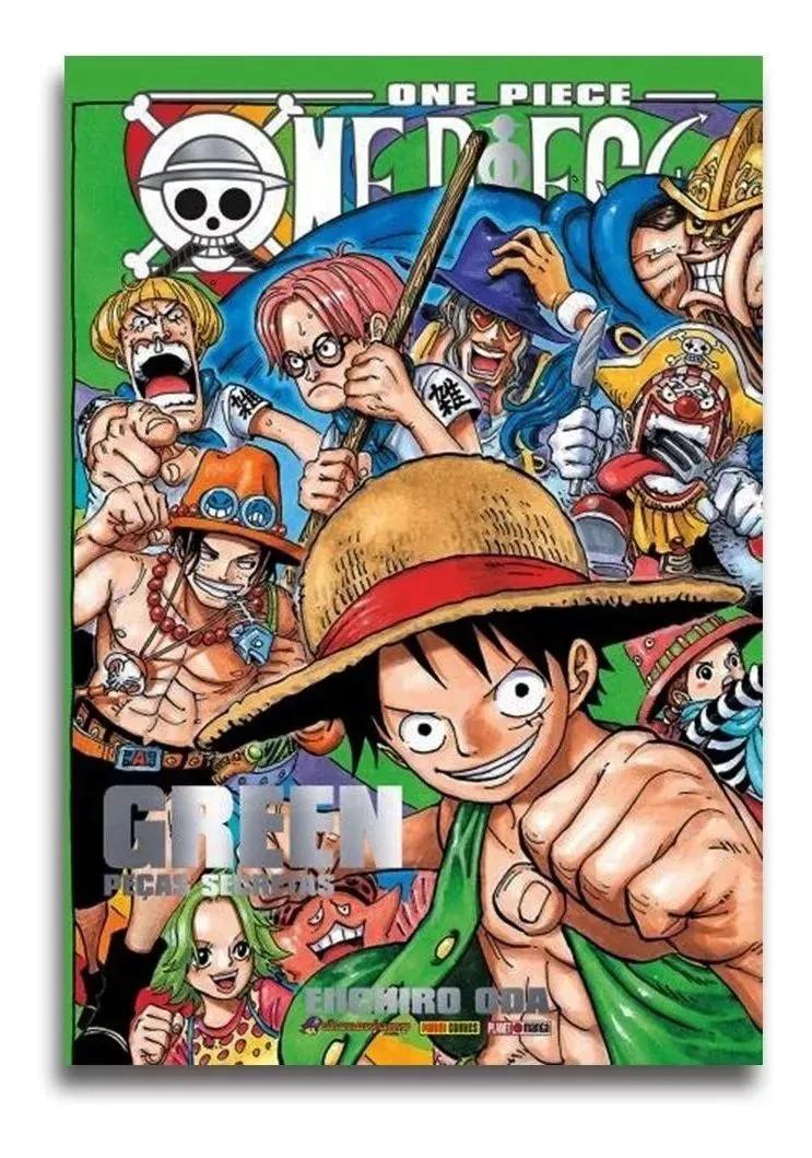 Revista Manga Livro One Piece Green Peças Secretas