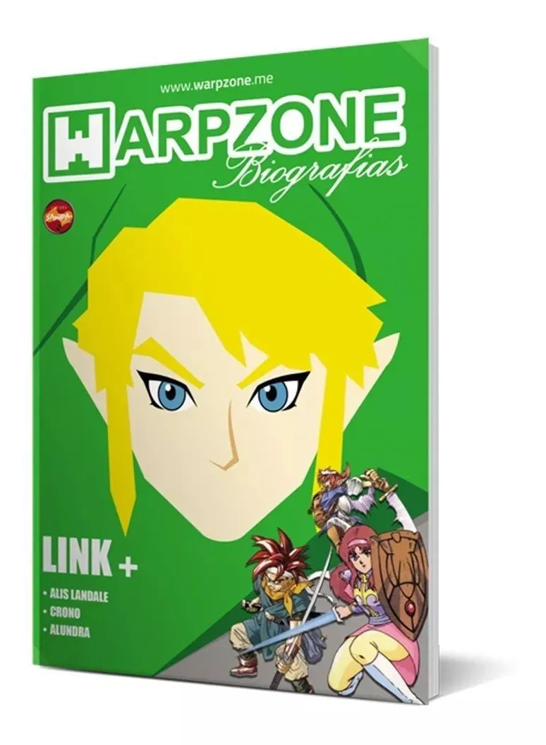 Revista Warpzone Biografia Link Zelda  Livro