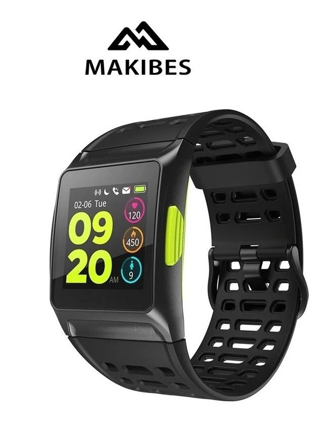 Smartwatch Relógio Sport Watch Makibes Original Importado