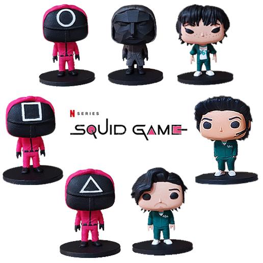 Squid Game Round 6 Netflix Toyart Boneco
