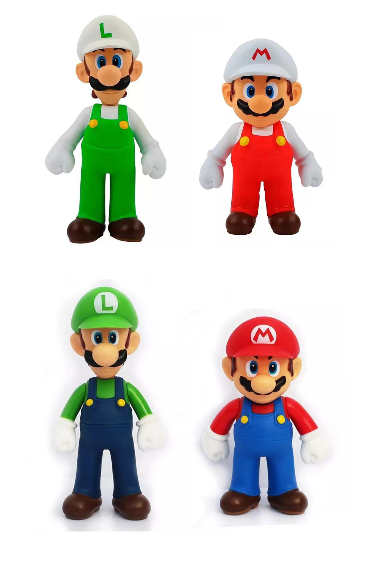 Super Mario Bros - Banpresto Action Figure Boneco Luigi Mario