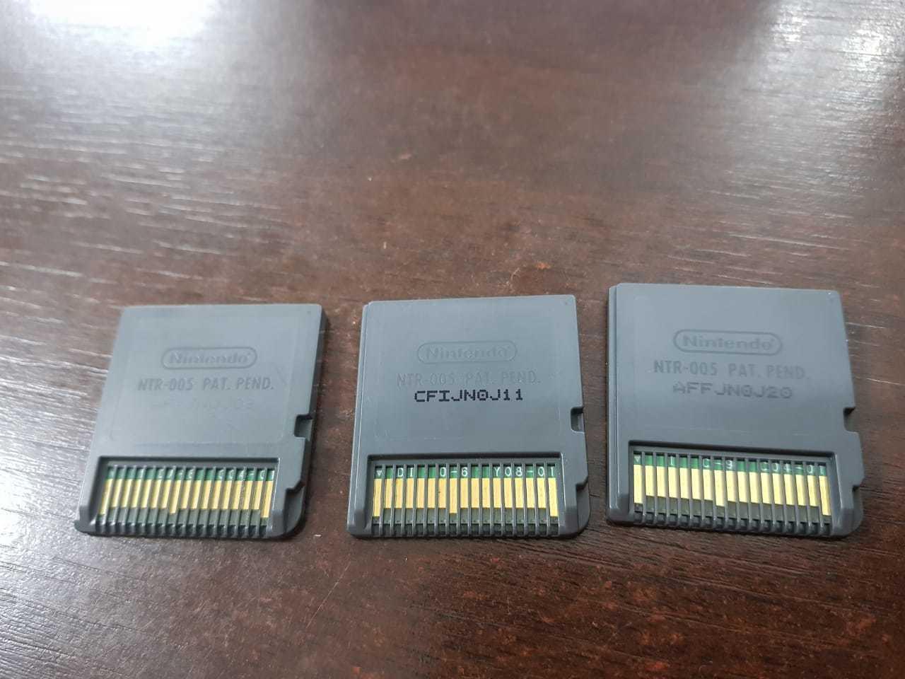 USADO Kit Com 3 Jogos Nintendo Ds Final Fantasy - Japones NDS