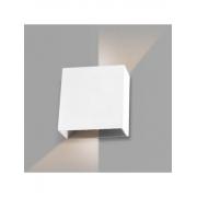 Arandela Led 4w Quadrada Branco Quente