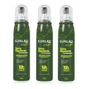 Combo 3 Repelentes Contra insetos Sunlau Max Spray com Icaridina 10 horas de proteção 100ml