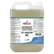 Detergente neutro concentrado alcalino clorado DT Master AC Henlau 5 litros