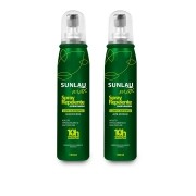Kit 2 Repelente Sunlau Max Spray com Icaridina