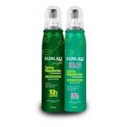 Kit Repelente Sunlau Max Spray com Icaridina +  Repelente Kids Spray com Icaridina