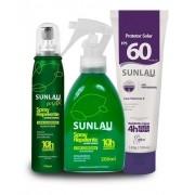 Kit Verão Sunlau Repelente + Protetor Solar FPS 60