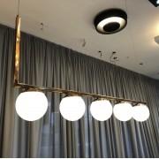 Pendente Globo esferas em vidro Old Artisan para 5x lâmpadas