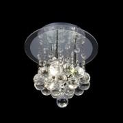 Lustre luminária  plafon em cristal legítimo K9 Mantra 25 cm