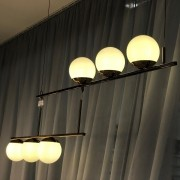 Pendente Globo esferas em vidro Old Artisan para 6x lâmpadas