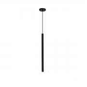 Pendente para cozinha com ou sem bancada Bartô Led cobre em alumínio para 1x lâmpada G-9 25mm x 600mm