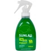 Repelente de insetos Sunlau Spray para roupa com Icaridina 10 horas de proteção 200ml