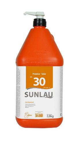Protetor Solar FPS 30 UVA/UVB com vitamina E 3,9kg Sunlau - Henlau