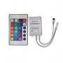 Controle + Controladora para Fita LED RGB colorida 12V