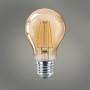 Lâmpada Bulbo Âmbar Vintage A60 Filamento Led 4w