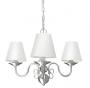 Lustre De Cristal Sala, Cozinha, Sala De Estar candelabro clássico vintage em alumínio escovado para 3 lâmpadas