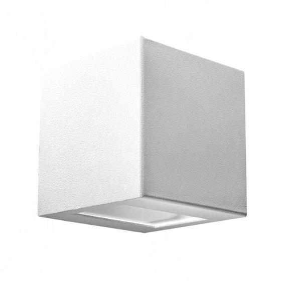 Arandela interna ou externa dois fachos em alumínio Incolustre EFFET 06 H11cm L11cm Base9cm