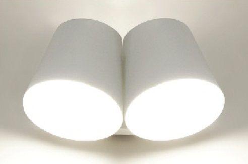 Arandela IGG em alumínio para 2x lâmpada G-9 Dim. H.10cm x L.22,5cm x P.13,5 cm