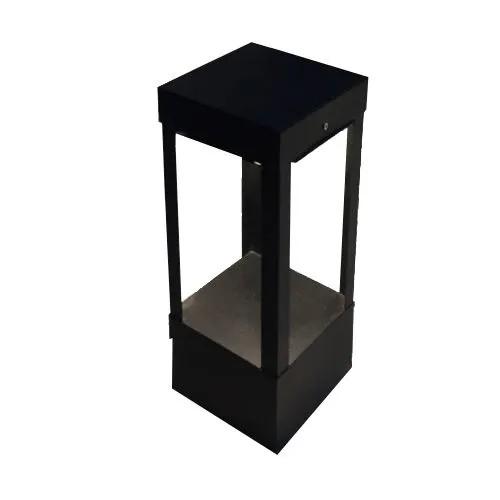 Poste Balizador space preto led 30cm Femarte 180023044