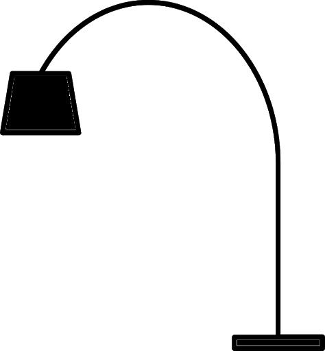 Luminárias de piso