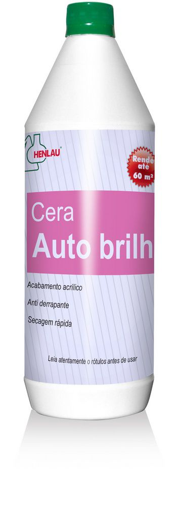 Cera auto brilho 1 litro - Henlau