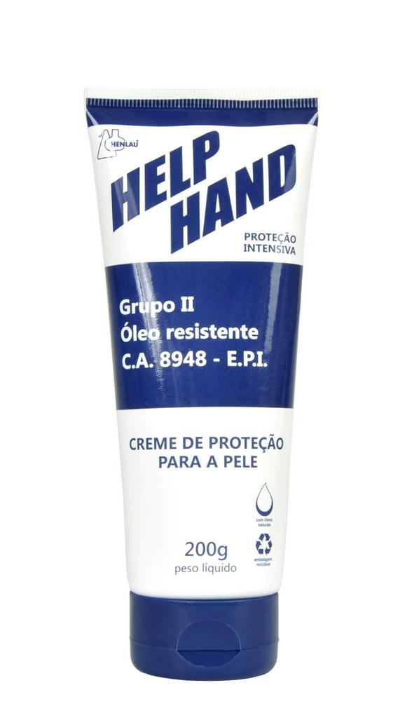 Creme de proteção Help Hand G2 200g Henlau CA 8948