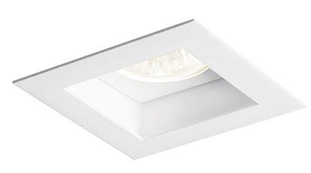 Embutido Flat branco 1 lâmpada AR111 Newline