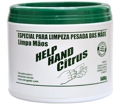 Help hand citrus limpa mãos 500g Henlau