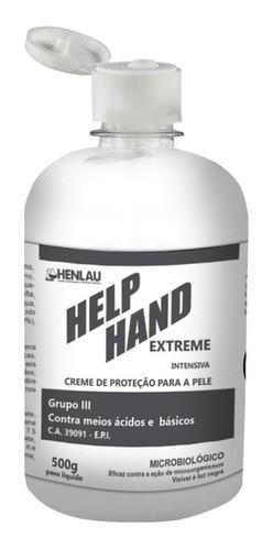 Help Hand extreme creme hidratante de proteção contra o COVID-19 500g