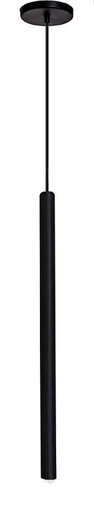 Pendente para cozinha bancada cozinha americana preto em alumínio para 1 lâmpada G9 25cmX40cm