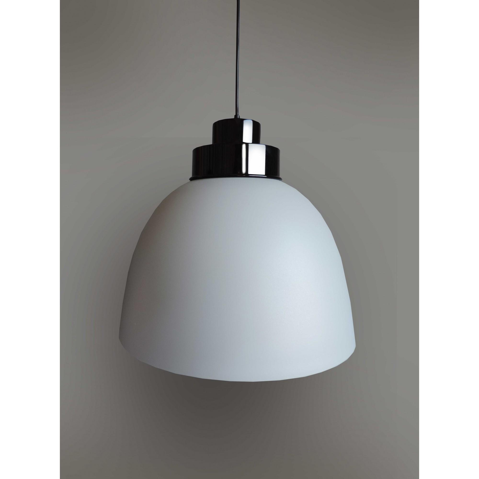 Pendente lustre Industrial Mônaco G fendi Ø40cm x 36cm