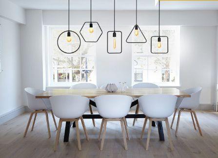 Pendente para bancada mesa redondo em alumínio cobre para 1 lâmpada E27 Ø30cm