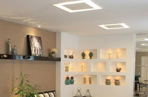 Plafon de Embutir luz indireta de 50cm Para 6x Lâmpadas G-9