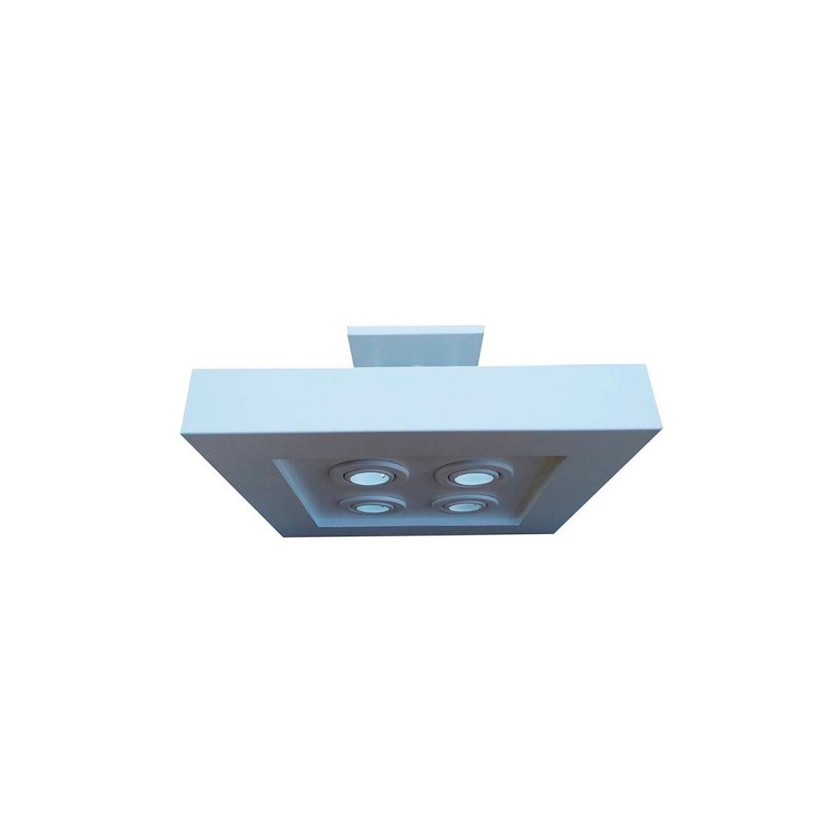 Plafon luz indireta e direta 40x40 cm