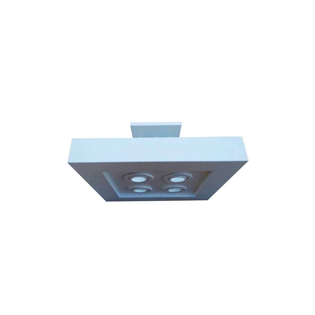 Plafon luz indireta e direta 50x50 cm