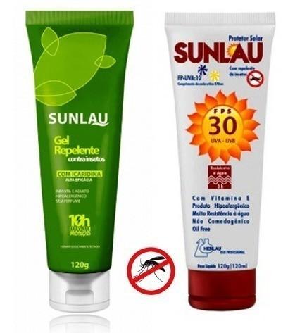 Repelente Com Icaridina + Protetor Solar Fps30 Com Repelente