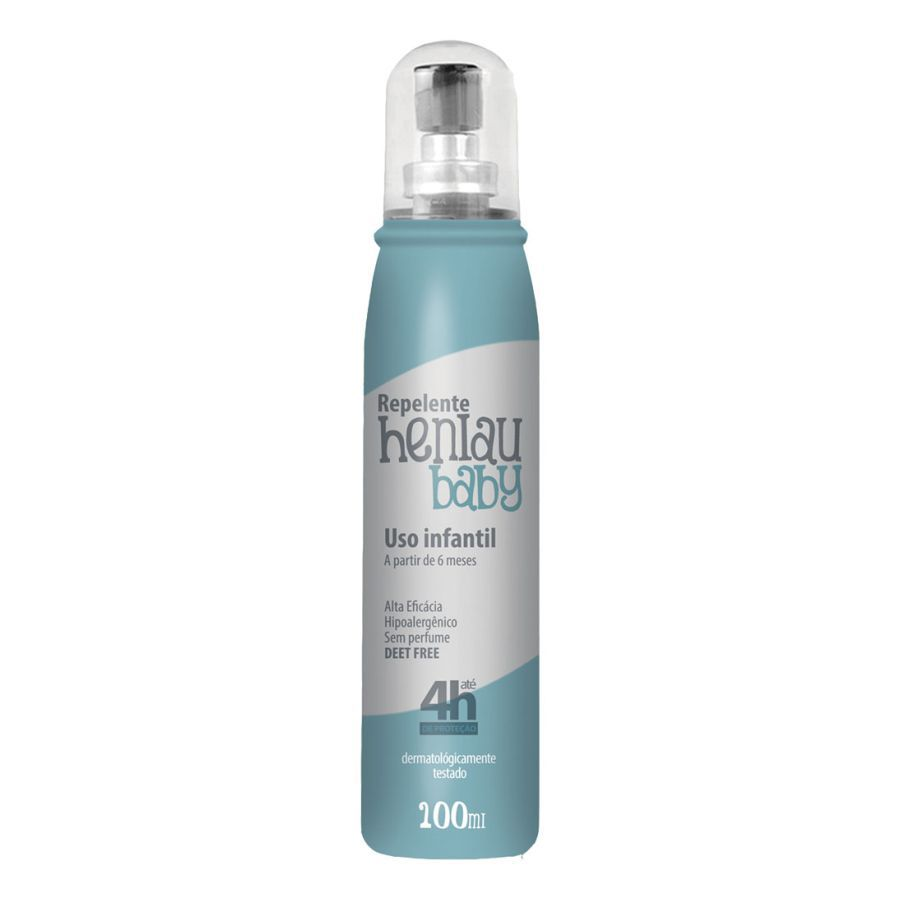 Repelente infantil contra insetos - Baby Spray IR35/35 100ml - Henlau Repelente