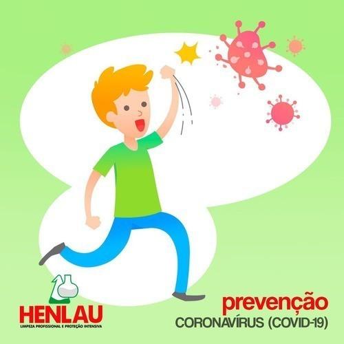 Sabonete líquido Antisséptico HL Clean A com triclosan Henlau 5 litros