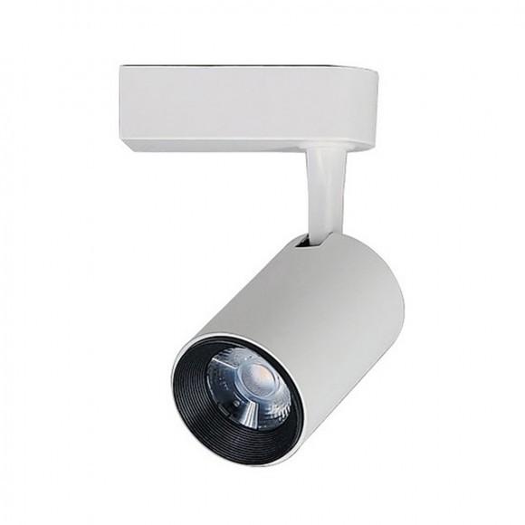 Spot  Branco para Trilho  Eletrificado Preto 7W