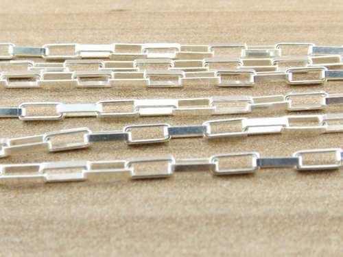 Cordão Corrente Prata Cadeado 2mm 70cm Prata 925