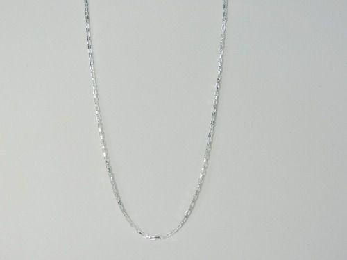 Corrente Cordão Maculino Prata Cadeado 3mm 70cm Em Prata 925