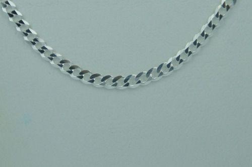 Cordão Corrente 3mm Grumet De Prata 925