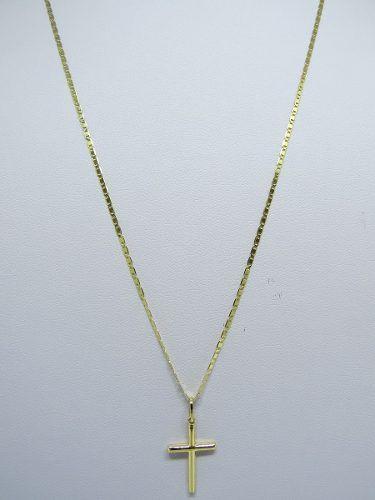 Cordão Corrente Masculina Ouro 60cm 2.7g Ouro 18k 750 Cadeado - DR JOIAS e0bef55748