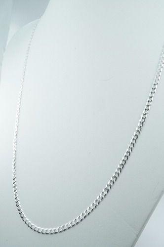 Corrente Cordão Grumet 3mmx 70cm Prata 925