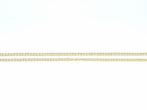 Corrente Masculina Cordão Grumet 60 Cm Ouro 18k 750