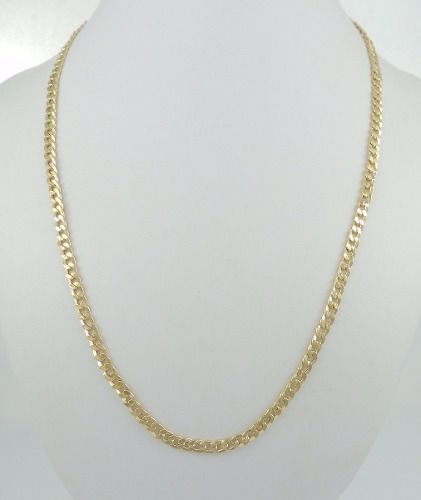 Corrente Cordão Masculino 70cm Grumet Ouro 18k 750
