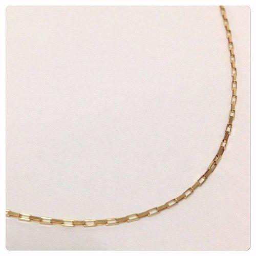 25e77ae1ff4d7 Corrente Cordão Masculino Ouro 60cm Ouro 18k 750 Cadeado - DR JOIAS