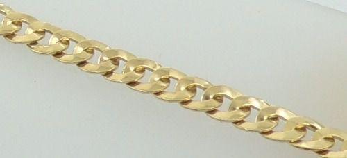Cordão Corrente 18 Gramas Grossa Grumet 60 Cm Ouro 18k 750